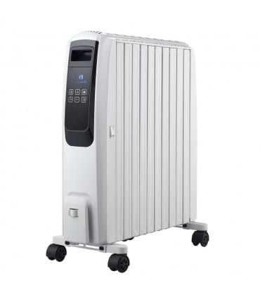 Calorifer electric cu ulei Finlux FR-1025T WH, 2500W, 10 elementi