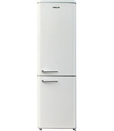 Frigider cu doua usi Finlux FBVAN-260, Clasa F, 250 L, H 184 cm, crem
