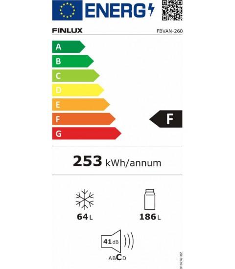 Eticheta energetica Finlux FBVAN-260