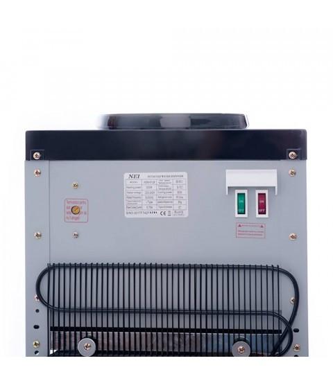 Dozator apa de birou NEI HSM-61TB, cu compresor, silver-black