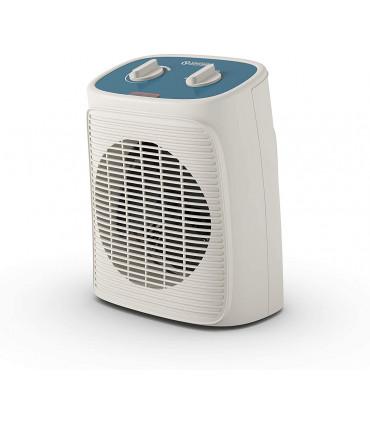 Aeroterma electrica cu ventilator Olimpia Splendid Caldo Rock M, 24mp, 1000/2000W, termostat, alb/albastru