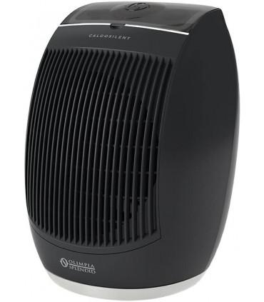 Aeroterma electrica cu ventilator Olimpia Splendid CaldoSilent, 32mp, 2400W, termostat, negru