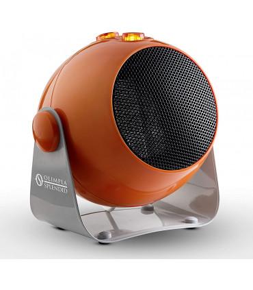 Aeroterma electrica cu ventilator Olimpia Splendid CaldoDesign O , tehnologie ceramica, 1800 W, termostat, portocaliu