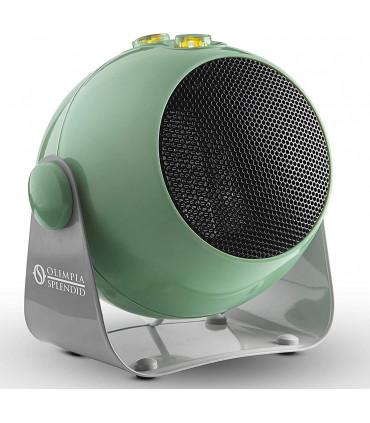 Aeroterma electrica cu ventilator Olimpia Splendid CaldoDesign S , tehnologie ceramica, 1800 W, termostat, portocaliu