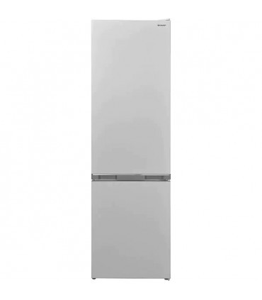 Combina frigorifica SHARP SJ-BB05DTXWF, NanoFrost, 288 l, H 180 cm, Clasa F, Alb