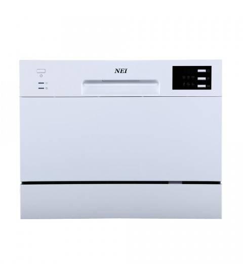Masina de spalat vase compacta NEI NDW6S-3602E, 6 Seturi, 6 Programe