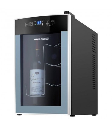 Vitrina de vinuri Philco PW 8, 8 sticle, display digital