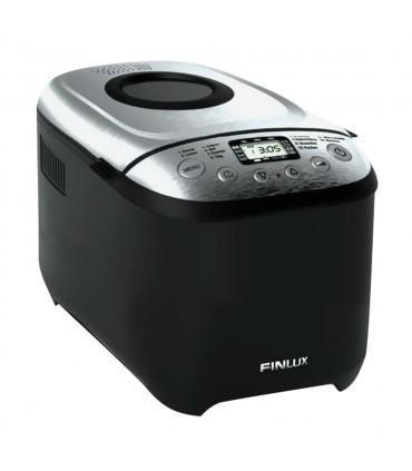 Masina de facut paine Finlux FBM-1681IX, 850 W, 1250 g, 12 programe, inox