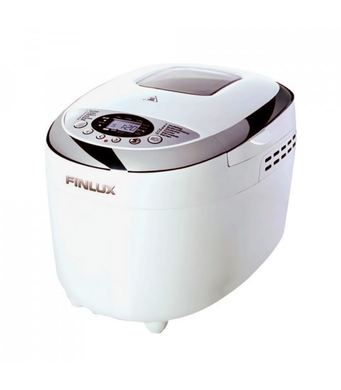 Masina de facut paine Finlux FBM-1682W, 1250 g, 12 programe, alba