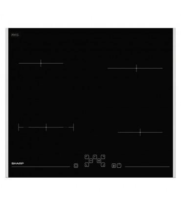 Plita vitroceramica Sharp KH-6V08FT00, Electrica, 4 zone de gatit