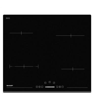 Plita vitroceramica Sharp KH-6V08BS00, Electrica, 4 zone de gatit