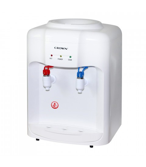 Dozator apa de birou Crown CWD-1806W, racire electronica
