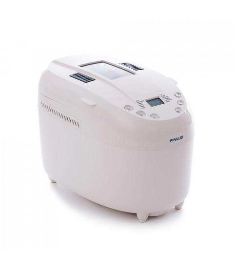 Masina de facut paine Finlux FBM-1580N, 850 W, 1350 g, 12 programe, alba