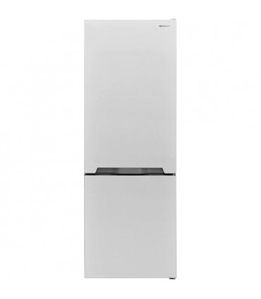 Combina frigorifica Sharp SJ-BB04DTXW1, Clasa energetica A +, Volum 268 l, 257 kWh / an, Nano Frost, H 170 cm, Alb