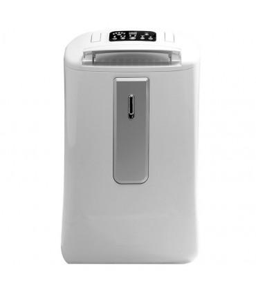Dezumidificator Finlux FDH-205L, 20 Litri / zi, 150m³/ora, Rezervor 5L, Display LED, Control Digital, Timer, Alb