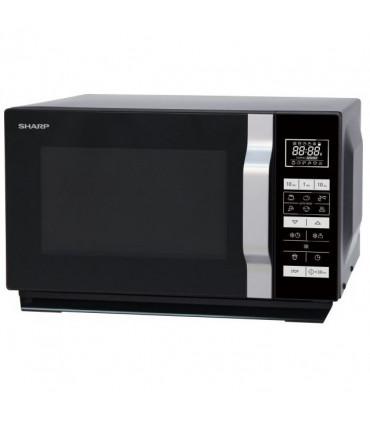 Cuptor cu microunde Sharp R360BK, 23 l, 900 W, Digital, Negru