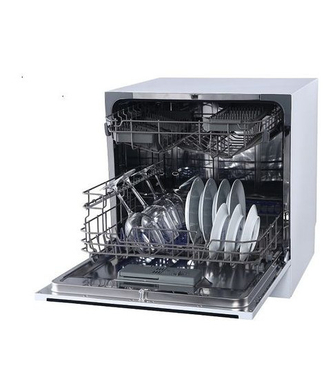 Masina spalat vase compacta NEI NDW8S-3802FW, A+, 8 seturi,alba
