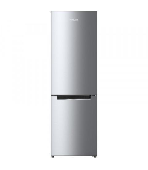 Frigider cu doua usi Finlux FBN-290IX, 286 l, Clasa F,Silver