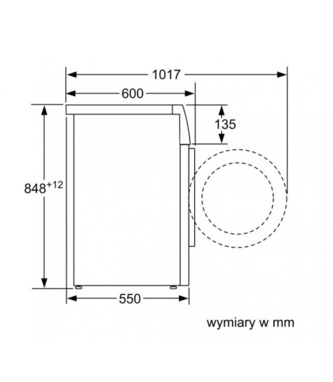Masina de spalat rufe Bosch WAN2007A, Clasa A+++, Capacitate 7 kg, 1000 rotatii. Alb