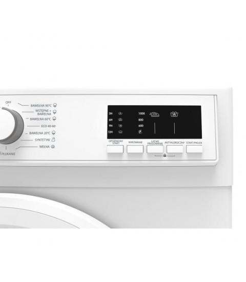 Masina de spalat rufe Sharp ES-HFA6103WD,Clasa A +++,1000 Rpm,Alb