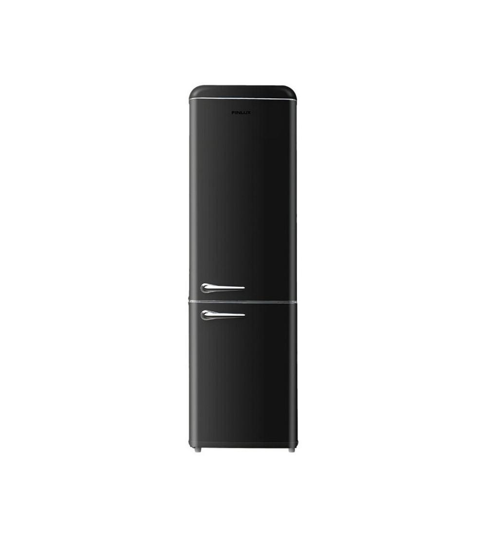 Frigider cu doua usi Finlux FBBL-260 Clasa F, 252 L, H 184 cm,Negru
