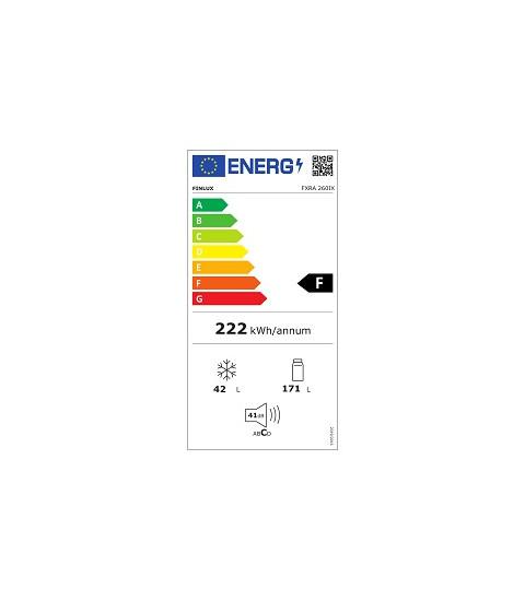 Eticheta energetica Finlux FXRA 260IX