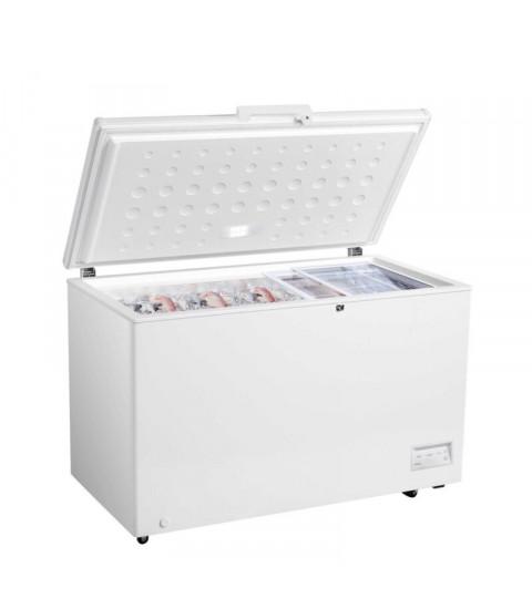 Lada frigorifica Crown CHF-380E ,371 l, clasa F, Alba, Control electronic