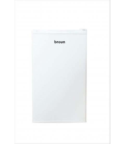 Frigider cu o usa Braun, MR-101, Clasa A+, 92 litri, alb