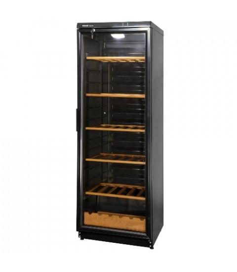 Vitrina de vinuri Snaige WD35SM-S3JJSG1, 330 l, filtru carbon, control mecanic, H 173 cm, neagra