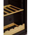 Vitrina frigorifica Snaige WD35SM-S3JJSG1, 330 l, filtru carbon, control mecanic, H 173 cm, neagra