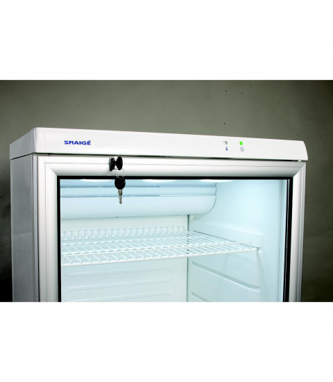 Vitrina frigorifica Snaige CD29DM-S300SE, 275 l, control mecanic, H 145 cm, alba
