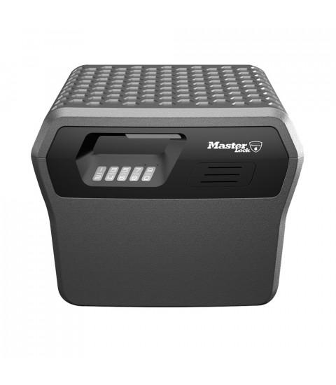 Caseta de valori portabila MasterLock FHW40300EURHRO, certificata anti-incendiu, cheie digitala