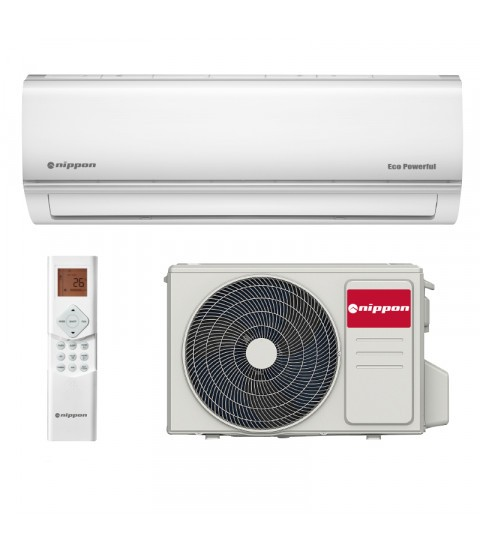 Aer conditionat Inverter Nippon KFR 12DCA ECO POWERFUL, 12000 BTU, CLASA A ++
