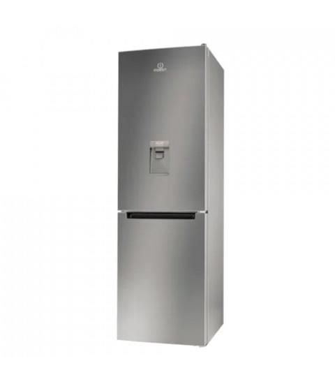 Combina frigorifica Indesit LI8S1ESAQUA, 334 l, Clasa F, H 189 cm, Silver
