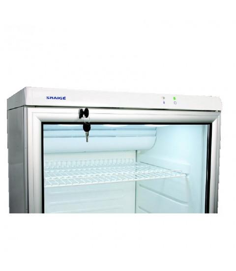 Vitrina frigorifica Snaige CD35DM-S300SD, 320 l, control mecanic, H 173 cm, alba